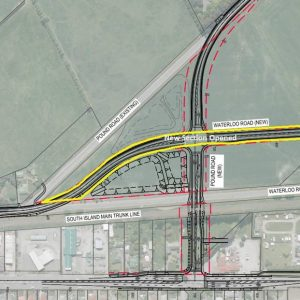 Pound Road realignment